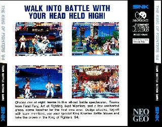 Screenshot Thumbnail / Media File 1 for King of Fighters '94, The (1994)(SNK)(Jp-US)[!][NGCD-055 MT B12, NGCD-055E]